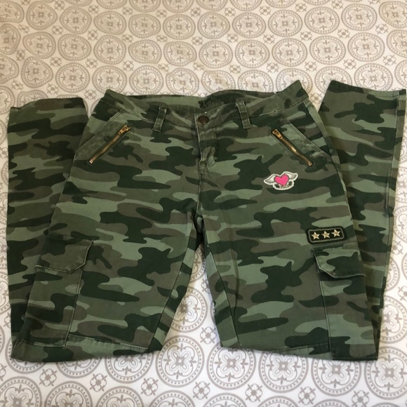 Justice Other - Justice Camo Jeans